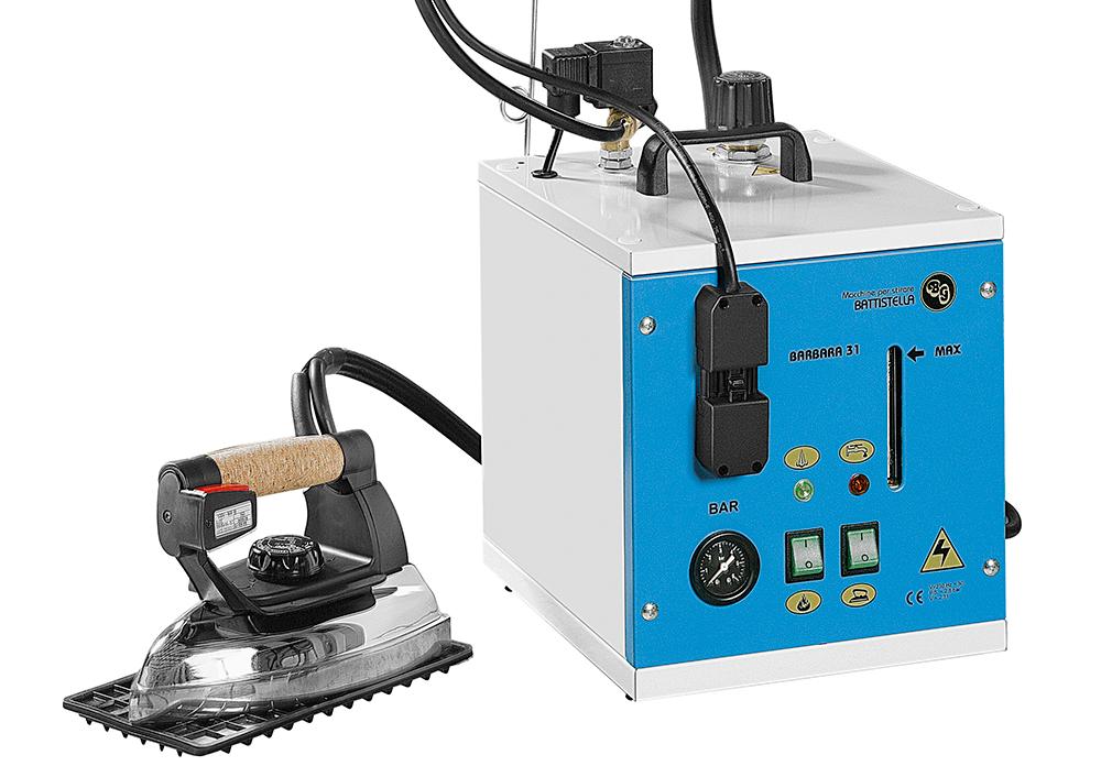 generatore di vapore con ferro da stiro