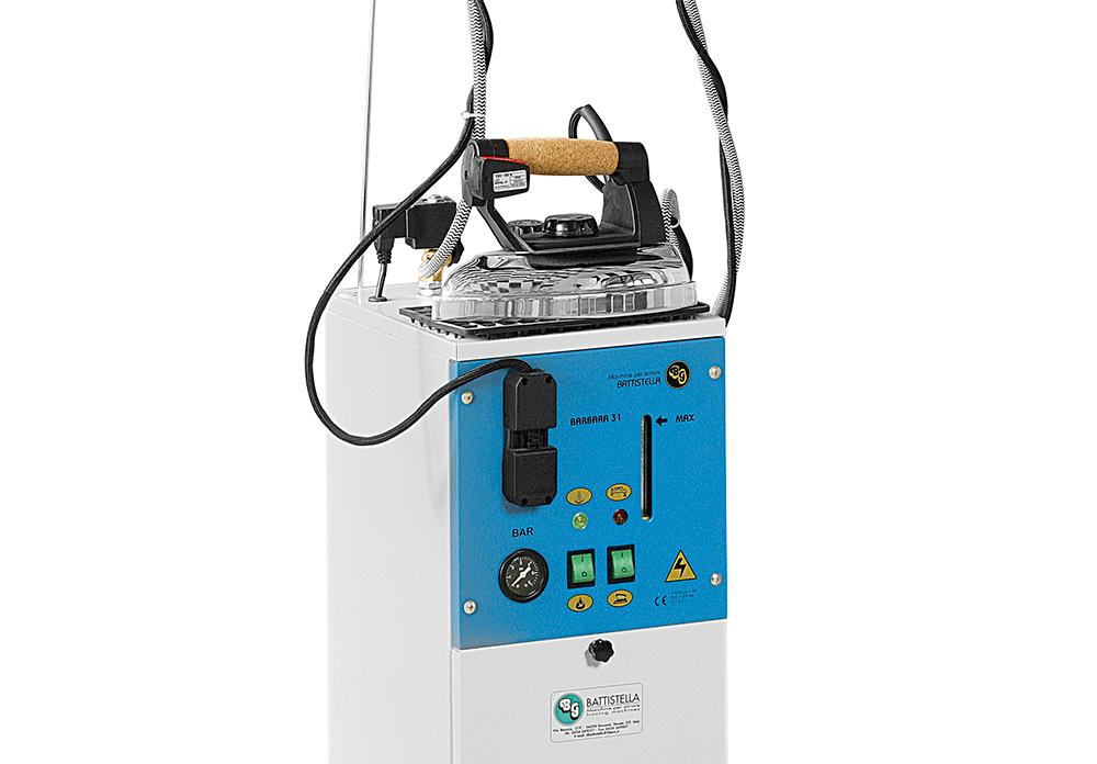 generatore di vapore con caldaia in acciaio